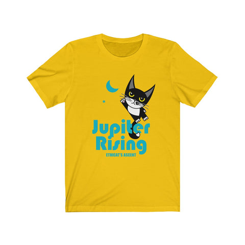 Jupiter Rising III . Unisex Cotton Tee