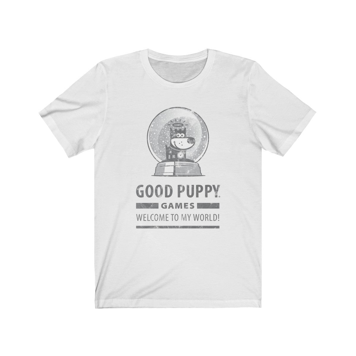 GOOD PUPPY VINTAGE . Games II . Unisex Jersey Short Sleeve Tee