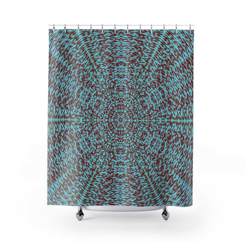 The One II . Shower Curtains