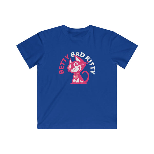 Betty Bad Kitty III . Kids Fine Jersey Tee