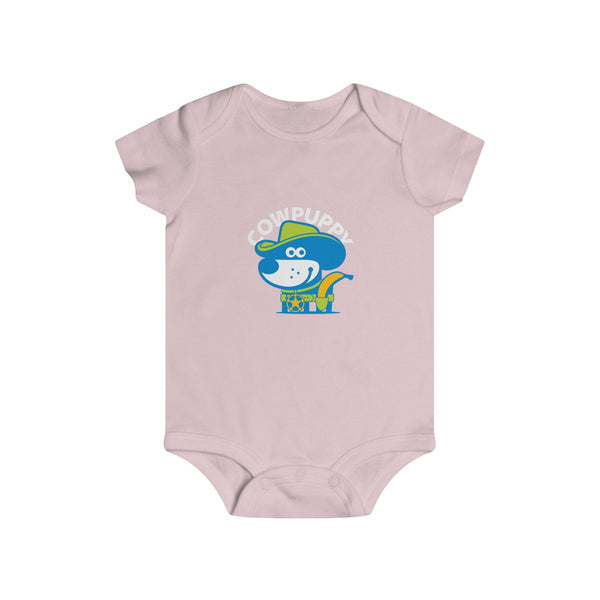 Cow Puppy I . Infant Rip Snap Tee