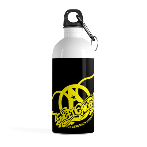 Sweet Emotion . Yellow Logo . Stainless Steel Water Bottle