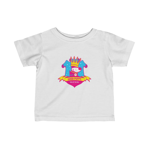 King Of The Hill . Pop Print . Infant Fine Jersey Tee
