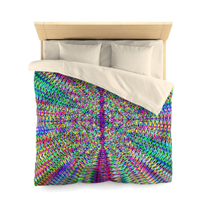 Seed Of Life . Duvet Cover . Queen