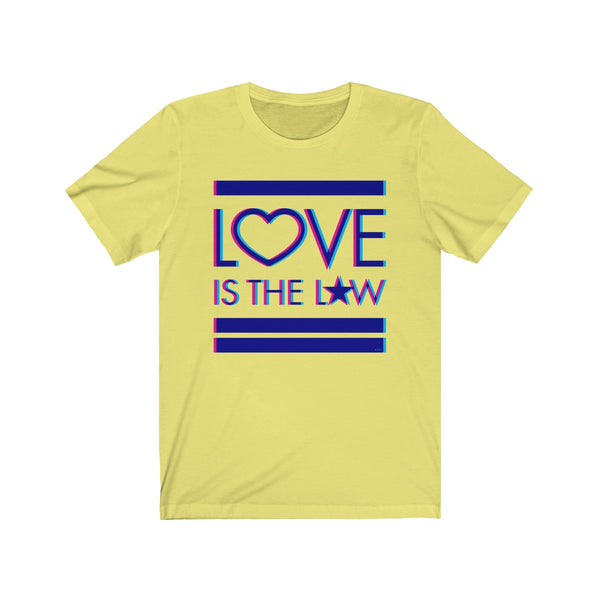 GEORGE'S DRAGON . Love Is The Law I . Unisex Jersey Short Sleeve Tee