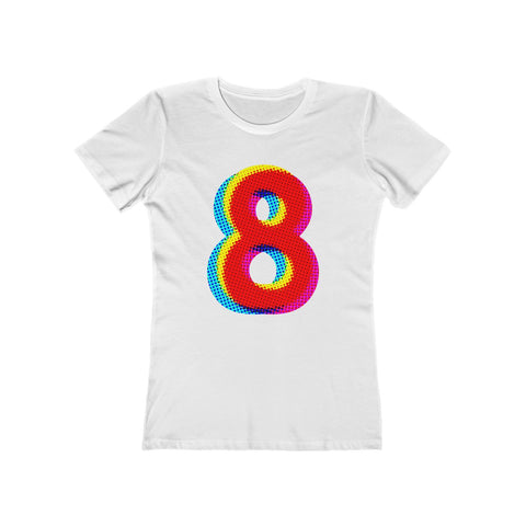 Eight . Women's The Boyfriend Tee