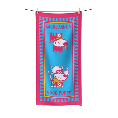 Good Puppy Bath III . Polycotton Towel