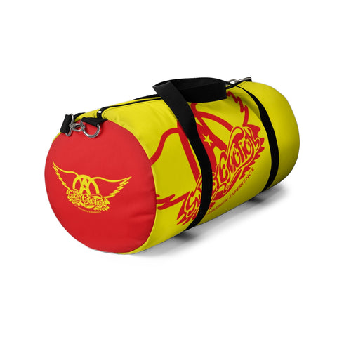 Sweet Emotion . Red Yellow Logo . Duffel Bag