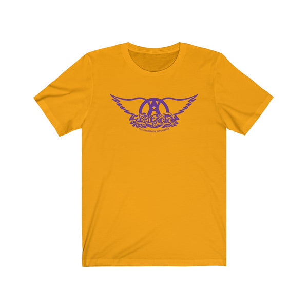 Sweet Emotion . Purple Logo . Unisex Cotton Tee