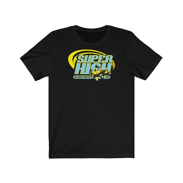 GOOD PUPPY Super High . Pop Print . Unisex Jersey Short Sleeve Tee