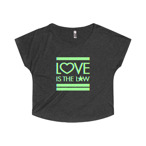 GEORGE'S DRAGON . Love Is The Law . Women's Dolman