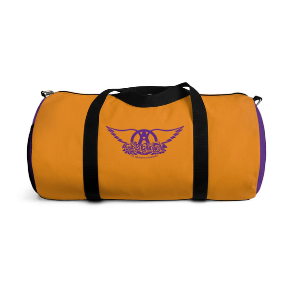 Sweet Emotion . Purple Orange Logo . Duffel Bag
