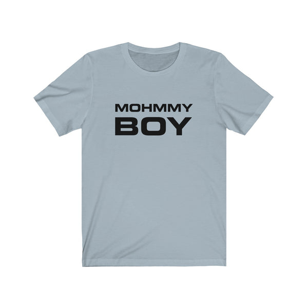 Mohmmy Boy . Black Print . Unisex Cotton Tee