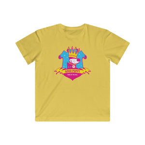 GOOD PUPPY King Of The Hill . Pop Print . Kids Fine Jersey Tee