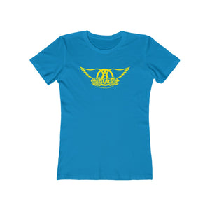 Sweet Emotion . Yellow Logo . Women's The Boyfriend Tee