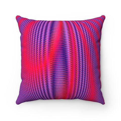 Inner Light IV . Faux Suede Square Pillow