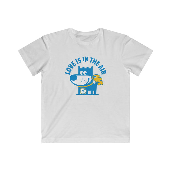 Love Is In The Air I . Kids Fine Jersey Tee