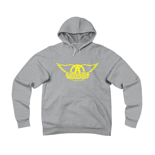 Sweet Emotion . Yellow Logo . Unisex Sponge Fleece Pullover Hoodie