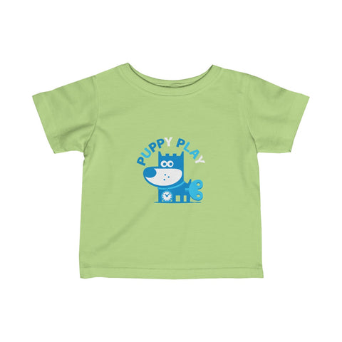 Puppy Play I . Infant Fine Jersey Tee