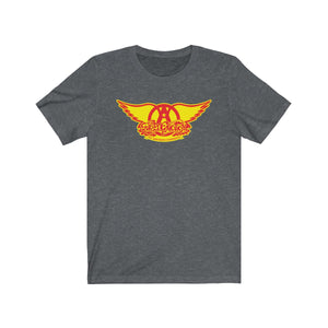Sweet Emotion . Red On Yellow Logo . Unisex Cotton Tee