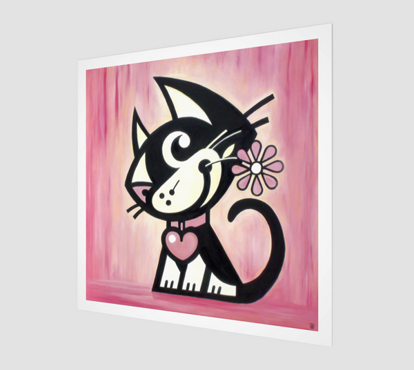 Cat Fine Art Unique Home Decor. Betty Bad Kitty