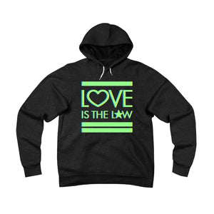 Love Is The Law . Unisex Sponge Fleece Pullover Hoodie