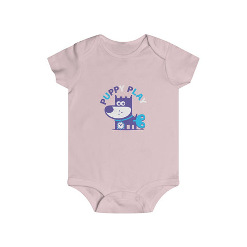 Puppy Play II . Infant Rip Snap Tee