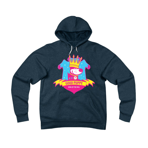 King Of the Hill . Pop Print . Unisex Sponge Fleece Pullover Hoodie