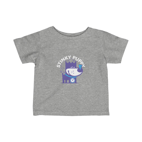 Stinky Puppy II . Infant Fine Jersey Tee