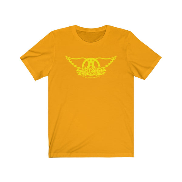 Sweet Emotion . Yellow Logo . Unisex Cotton Tee