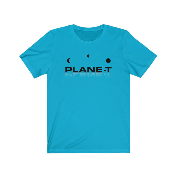 Gifts For Men . Unisex Jersey Short Sleeve Tee . PLANE-T . Logo