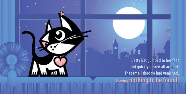 Betty Bad Kitty's Bedtime Stories: Blame It On The Fly