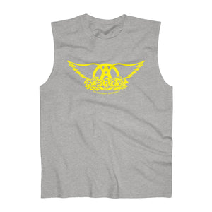 Sweet Emotion . Yellow Logo . Men's Ultra Cotton Sleeveless Tank