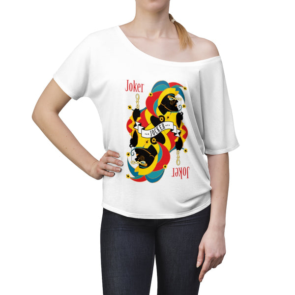 Joker . Women's Slouchy top