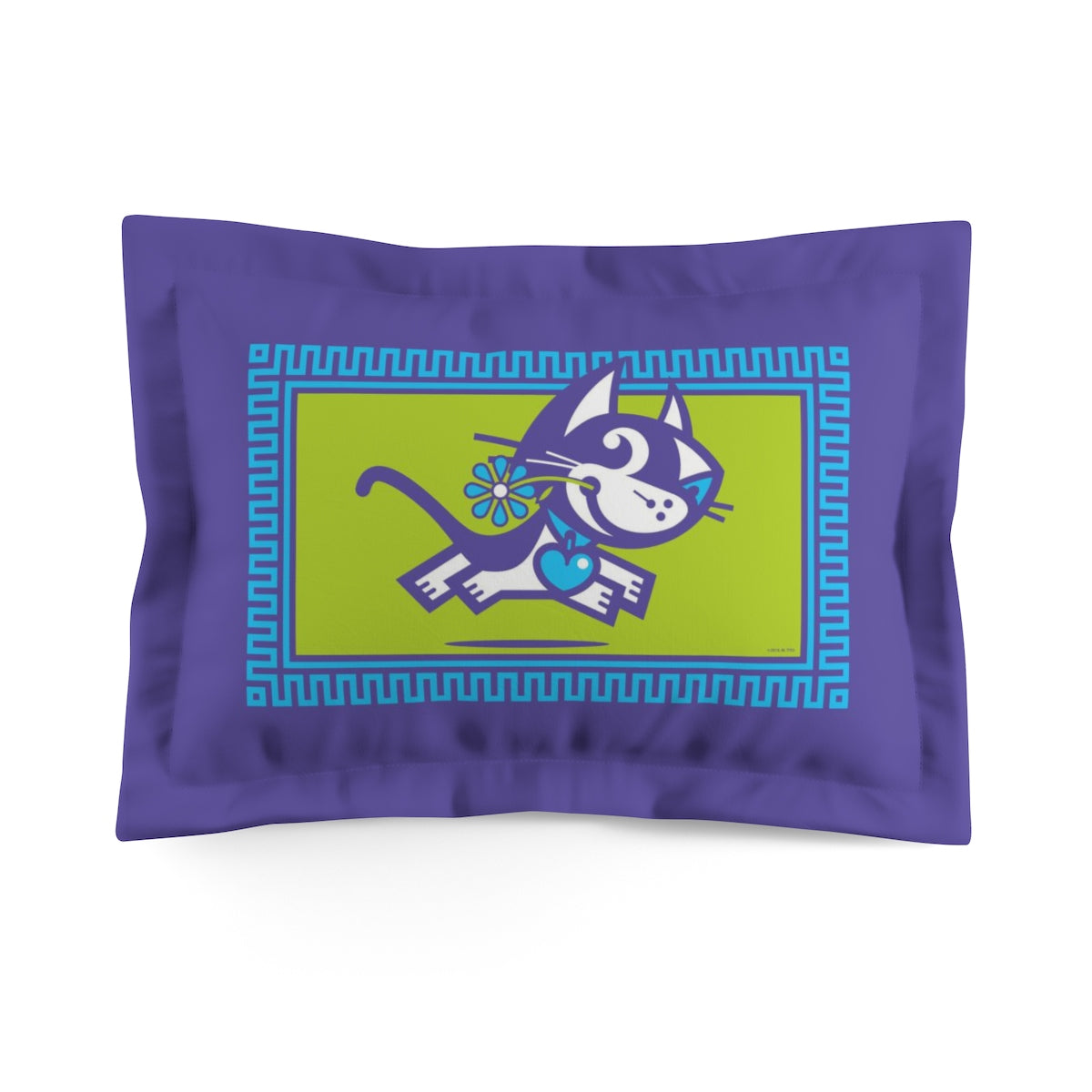 Betty Bad Kitty . Pop II . Kitty . Pillow Sham