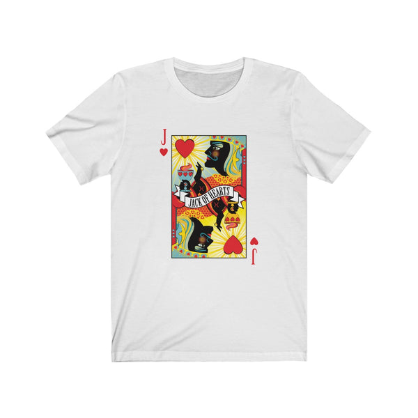 Jack Of Hearts . Unisex Cotton Tee