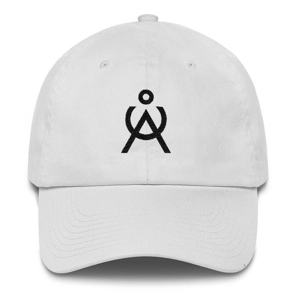 Angel Caller White Unstructured Baseball Cap