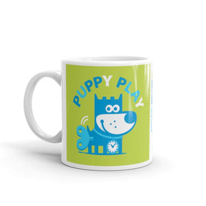 Puppy Play Good Puppy Whimsical Character Ceramic Mug