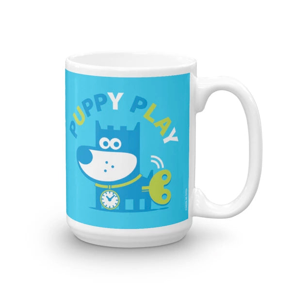 Puppy Play Good Puppy Children's Character Ceramic Mug