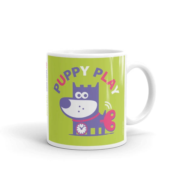 Puppy Play Adorable Children's Character Mug