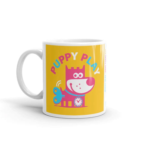 Puppy Play Children's Ceramic Mug