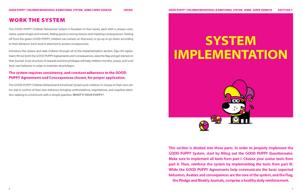 Implementing The Child Behavioral Game Child Cognitive Behavioral System