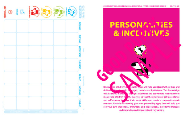Child Behavioral Charts And Tools Child Cognitive Behavioral System