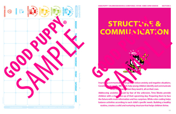 Structure And Communication Tools for Children
