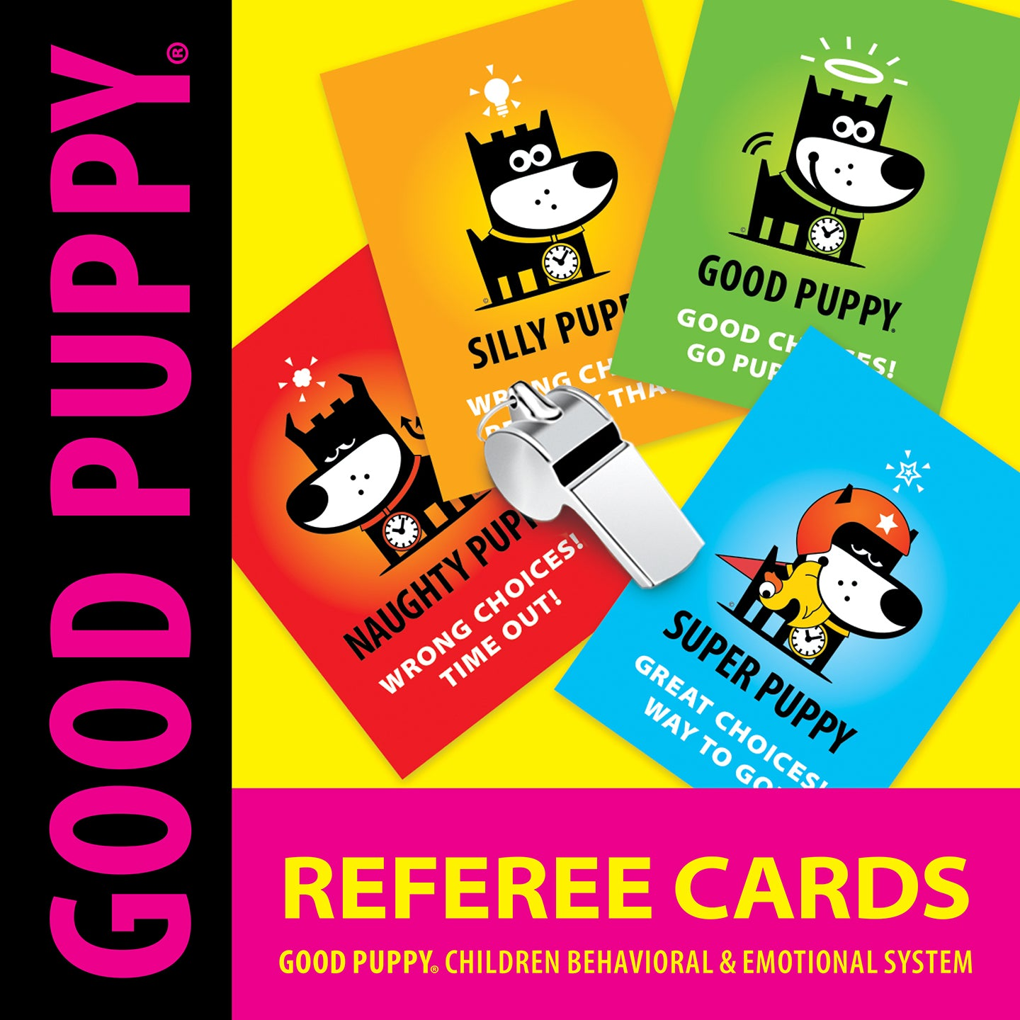 GOOD PUPPY . Printable PDF . Referee Cards