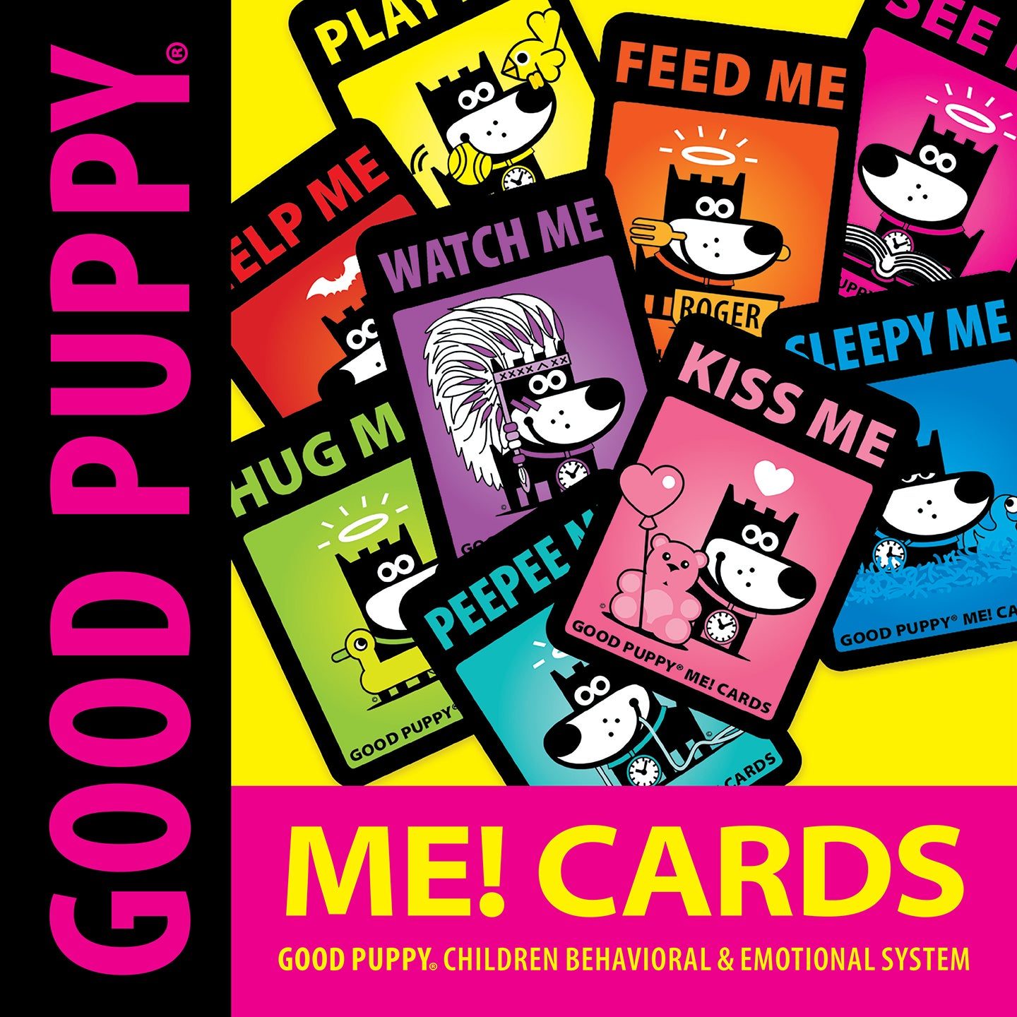 GOOD PUPPY . Printable PDF . ME! Cards