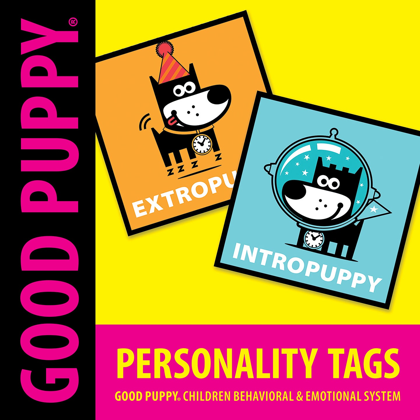 GOOD PUPPY . Printable PDF . Personality Tags