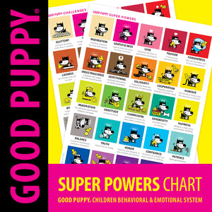 Printable PDF . INNERCHI Super Powers Charts