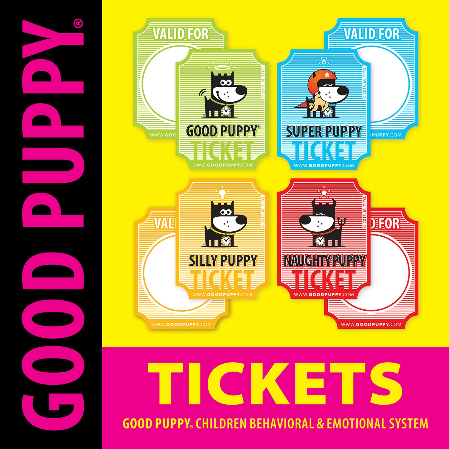 GOOD PUPPY . Printable PDF . Tickets