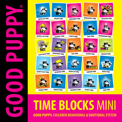Printable PDF . Time Blocks Mini